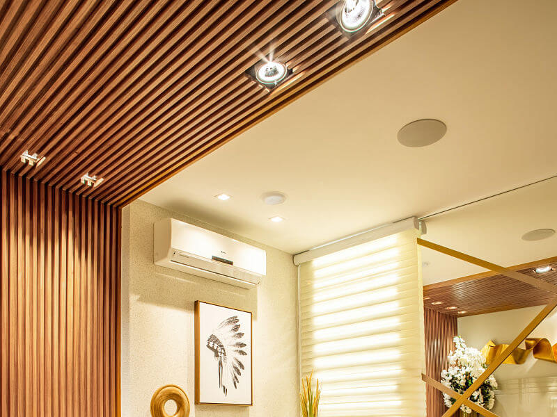 iluminação de sala