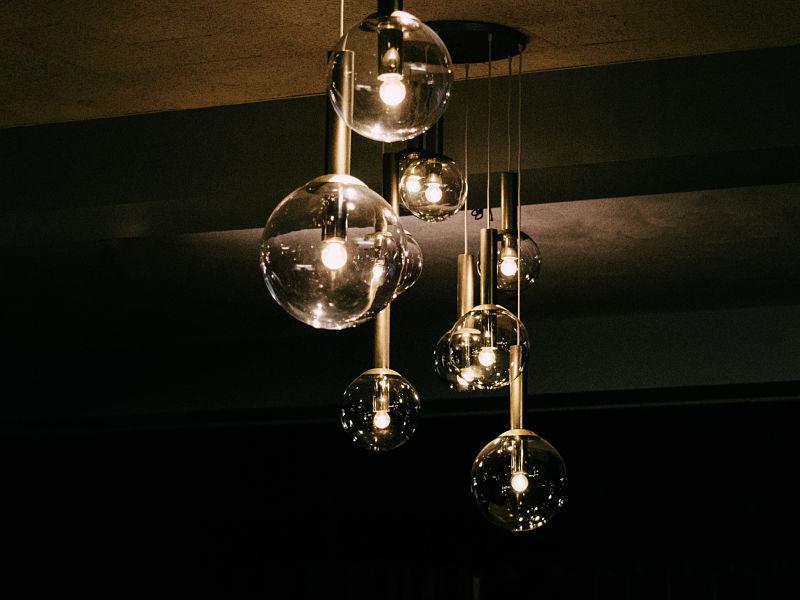 pendentes esferas