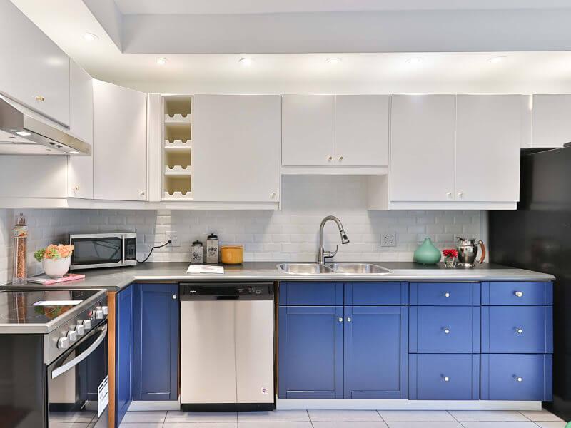 projeto de iluminação de cozinha