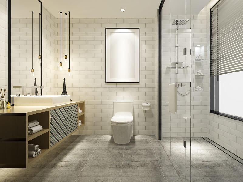 projeto luminotécnico banheiro