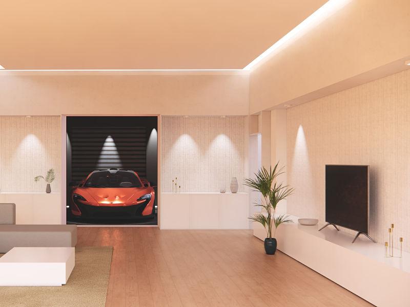 iluminação sala de visita