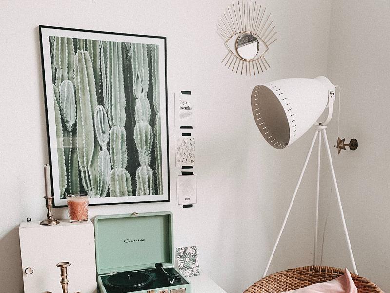 iluminação indireta quarto home office