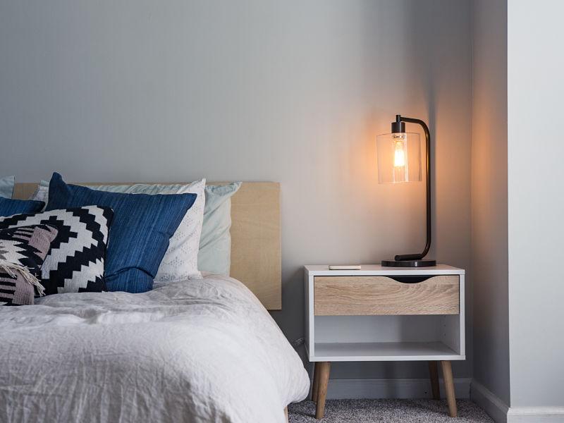 luminária de mesa de cabeceira