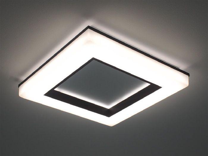 Plafon de sobrepor instalado no teto