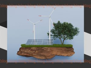 energia sustentável exemplificada com paineis