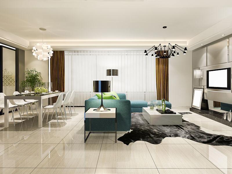 lustres modernos sala chique
